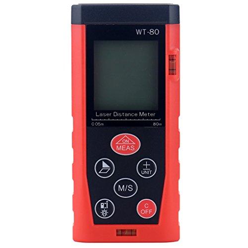 masterein WT 40–100m Handheld Laser-Entfernungsmesser Digital Maßnahme Laser Range Finder Entfernungsmesser