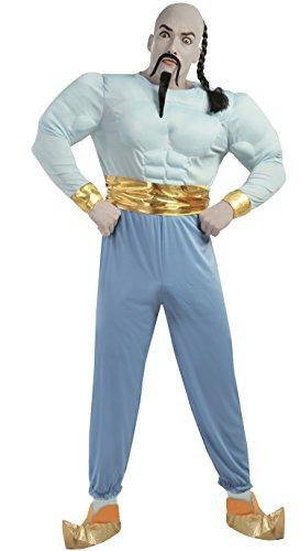 Kostüm Mann Ein Bein Lampe - Guirca Erwachsenenkostüm Mago, Größe 52-54 (80728.0)