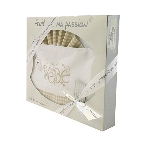 Box Set beige plaid biancheria - bambino del modello