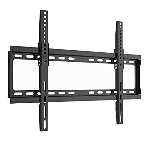 1home Support TV mural Universel Inclinable pour Ecran Télé Plate LED/LCD/Plasma 36-72''