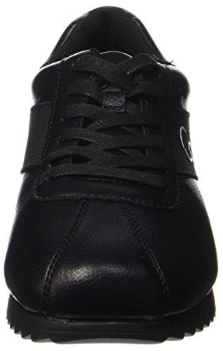 Calvin Klein Chad Nappa Smooth/Elastic, Baskets Homme Noir (Black/black)