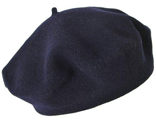 Seeberger Serie Scheffau, Gorro de Punto para Mujer, Azul (Marine 0060) 57 cm
