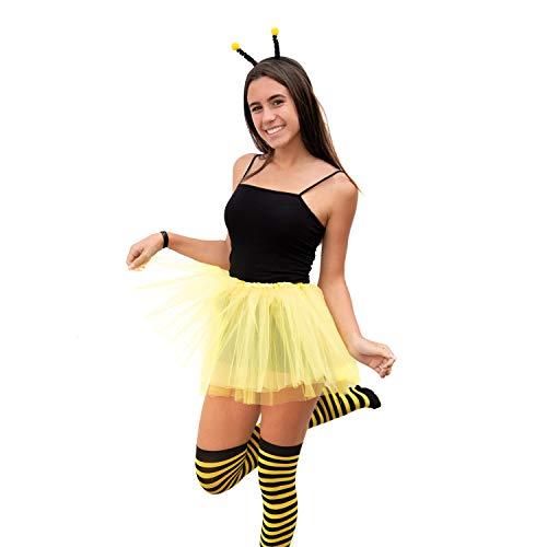 Damen Sexy Biene Kostüm - Oblique Unique® Sexy Biene Kostüm