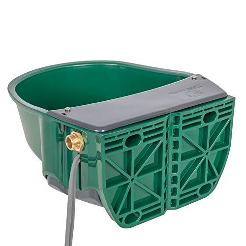 VOSS.farming beheizte Schwimmertränke Thermo S35-24V, 31 Watt, automatisches Thermostat Spezialkunststoff, Frostschutz Pferd Rinder Galloways Schafe Ziegen Hunde Tränke Selbsttränke
