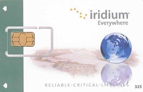 Tarjeta SIM Prepago Iridium inactiva - lista compra