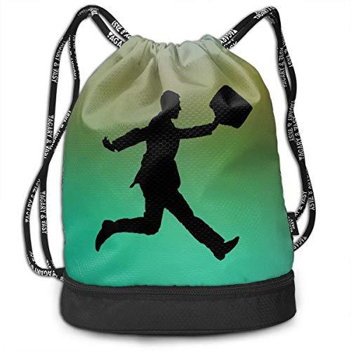 Zaini e borse,Zaini casual,Borse da palestra, Bundle Backpack Running To Make A Meeting Outdoor Large Capacity Shoulder Drawstring Bags