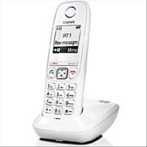 Telecom Italia 771070 Facile Start Gigaset AS405 DECT Marchio TIM, Bianco