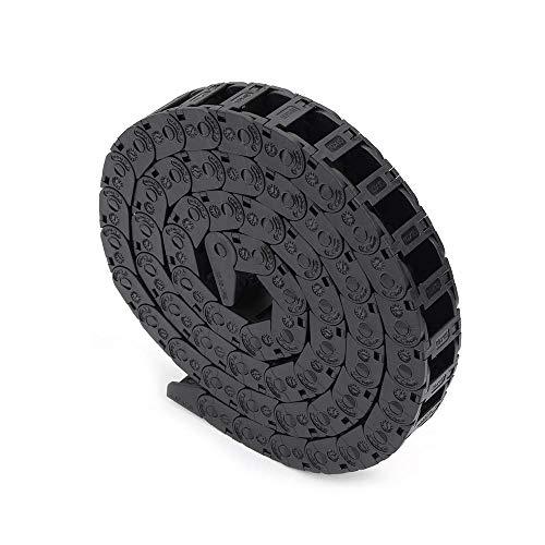 FYSETC - Cadena de arrastre de plástico flexible anidada semi colada de 10 mm x 15 mm con cable de alambre para impresora 3D, piezas CNC 3D Mini máquina eléctrica fresadora, 1 m
