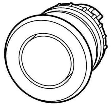 Eaton–Pilz Knopf Schw., O. Emblem, Toben m22-drp-sx GPV (Emblem-knöpfe)