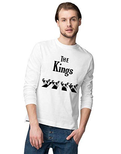 Crossing Light T-shirt (The Abbey Kings Crossing The Road Men's Long Sleeve T-Shirt,T-Shirts & Hemden(X-Large))