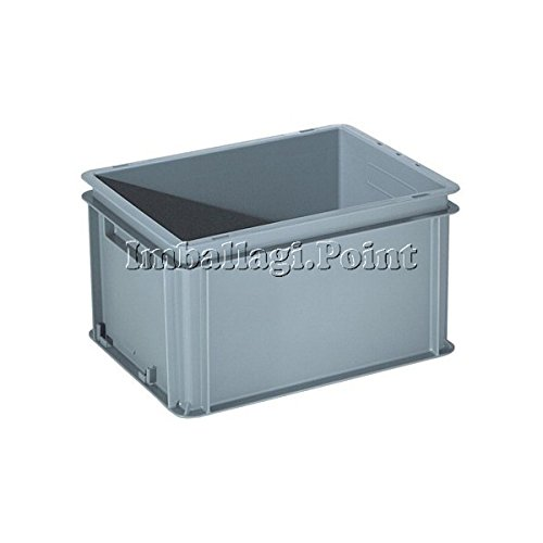 Behälter Kunststoff Delta MEC Mis Est 60x 40x 40Kapaz.70L Griffe geschlossen kg3,54 - Delta-kunststoff-behälter