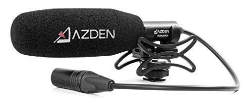 Azden sgm-250cx–Microfono per videocamere con ingresso audio XLR, colore: nero