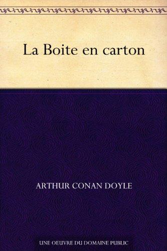 Couverture du livre La Boite en carton