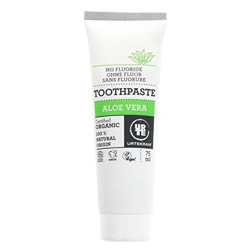 Urtekram Zahnpasta Aloe Vera (Natürliche Zahnpasta Fluorid-freie)
