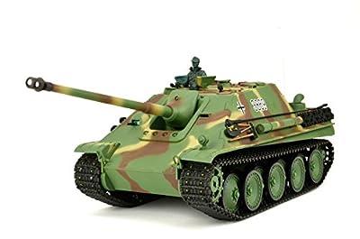 """RC Panzer """"Jagdpanther"""" Heng Long 1:16 mit Rauch&Sound, Metallgetriebe und 2,4Ghz Fernsteuerung von ES-TOYS"""