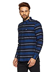 French Connection Mens Slim Fit Casual Shirt (52ISV/2_Dx-126 A_XL)