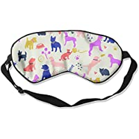 Colorful Cute Dog Sleep Eyes Masks - Comfortable Sleeping Mask Eye Cover For Travelling Night Noon Nap Mediation... preisvergleich bei billige-tabletten.eu