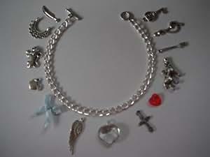 Twilight Inspirée 13 Charme Bracelet à breloques