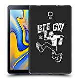 Head Case Designs Ufficiale WWE Let's Go Sami Zayn Cover Morbida in Gel per Samsung Galaxy Tab A 10.5 (2018)