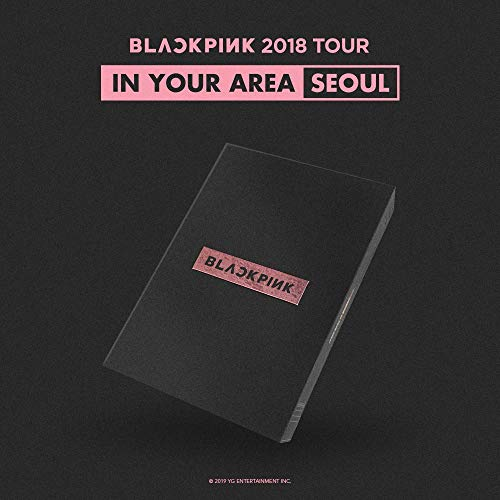 Blackpink 2018 Tour [In Your Area] Seoul DVD - [Pre Order] Pack of DVD, Photobook, Folded Poster, Photocard, Postcard Etc. with Extra Extra Decorative Sticker Set, Photocard Set