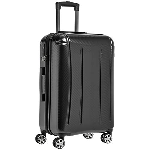AmazonBasics - Trolley rigido Oxford, 78 cm, Nero