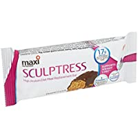 MaxiNutrition Caramel Crunch Maxi Tone Sculptress Meal Replacement High Protein Meal Bar, 60g