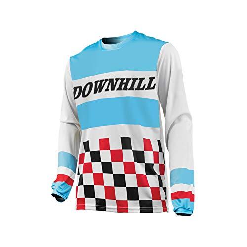 Uglyfrog Element Herren MX Motocross/Downhill Jersey Trikot Shirt Enduro Offroad Motorrad Erwachsene Motorräder Zubehör Kurz/Lang Ärmel SJF09 -