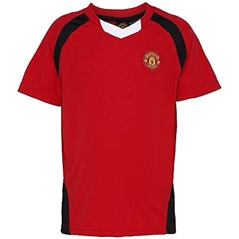 Fútbol oficial Merch niños Manchester United Camisa - Edades 2 - 13