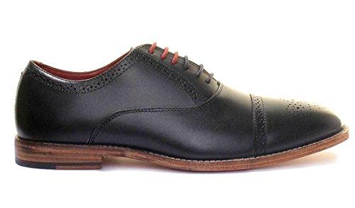 Justin Reece Taylor, Chaussures de ville à lacets pour homme Bleu Marine