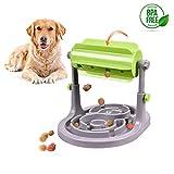 Alsanda Interaktives Hundepielzeug Futter Napf 2in1 für Hunde und Katzen | Gesunder Snackspender | Intelligenzspielzeug für Hunde | Mit Anti Schling Napf | BPA-Frei
