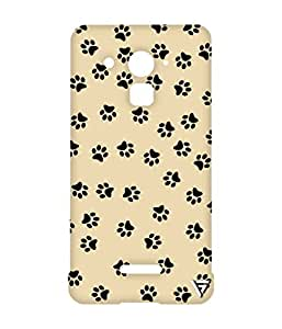 Vogueshell Dog Footprint Printed Symmetry PRO Series Hard Back Case for Coolpad Note 3 Lite