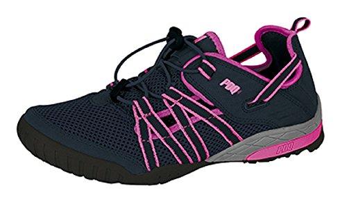 PDQ Ultra Sport Multi verstellbar Sandale, Trainer, Gym Schuhe Navy
