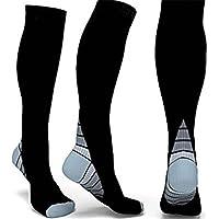 Calcetines de compresión para hombre mujer – Calcetines de ciclismo Compresión Medias Calcetines De Compresión Calcetines