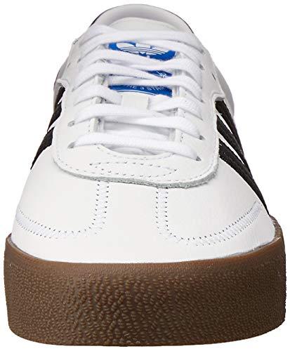 Adidas SAMBAROSE W, Zapatillas de Deporte para Mujer, Blanco (FtwblaNegbásGum5 000), 37 13 EU