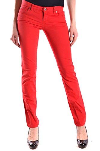 Alexander Mcqueen Jeans (Alexander Mcqueen Damen Mcbi014001o Rot Baumwolle Jeans)