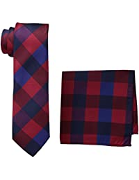 Lino Perros Men's Synthetic Tie Set (Pack of 2)
