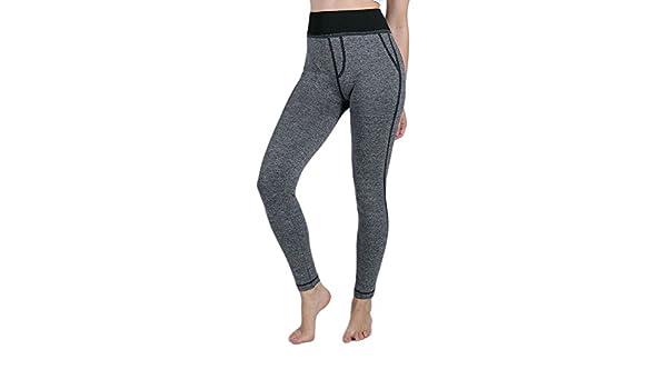 d7ac38658 ❤️LILICAT Femmes Faux Poche Gym Yoga Courir Fitness Leggings Pantalon  Athlétique Mode Femmes Faux Pantalon de Yoga Pantalons Leggings  Amazon.fr   ...