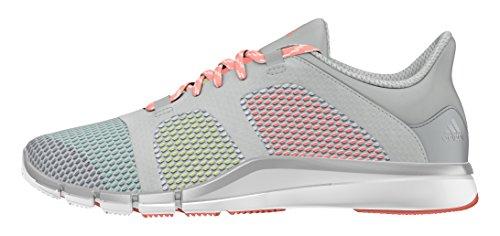 adidas Adipure Flex, Chaussures de Golf Femme, Gris-Gris (Grimed / Plamet / Ftwbla), 40 2/3 EU