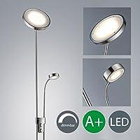 Lampe sur pied LED/projecteur/lampe de plafond/plafond projecteur/de lecture Bras/lampe de lecture/intensité variable/Blanc Chaud/intensité variable en continu
