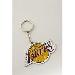 Los Angeles LA Lakers Basketball NBA Keyring Keychain Metal Logo Emblem Official