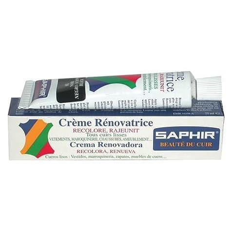 Cirage Crème Rénovatrice SAPHIR (Tube 25 ml ARGENT Métallisé 24