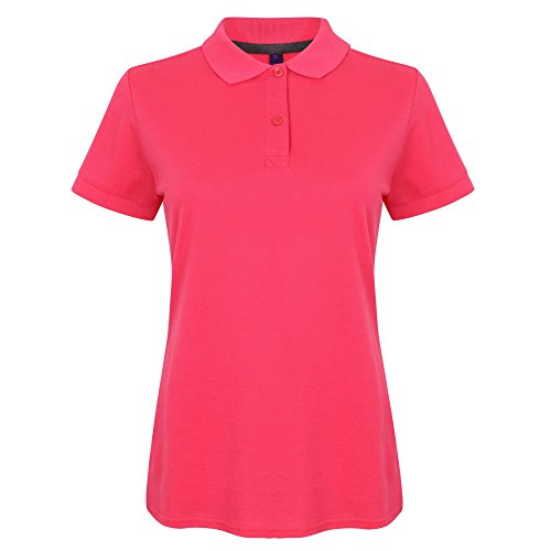 Henbury - Polo uni - Femme Rouge