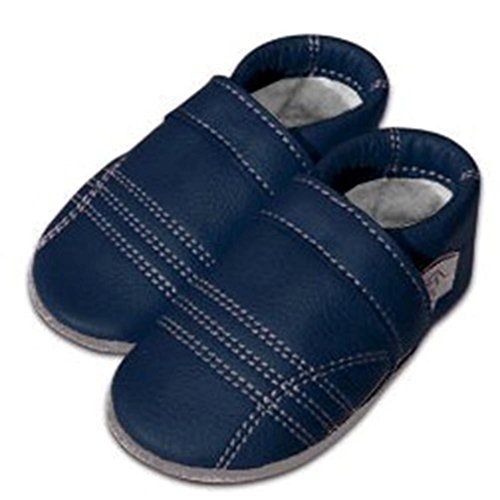 Tai chi kung fu chaussures pantoufles chaudes - marine-dunkelblau
