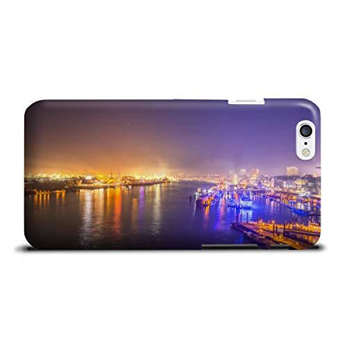 artboxONE Apple iPhone 6 Premium-Case Handyhülle Hamburger Hafen XIV von Jan Hartmann