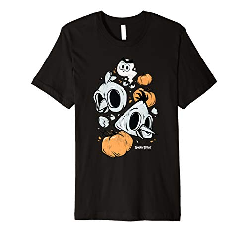 Angry Birds Halloween Bird Skull T-Shirt