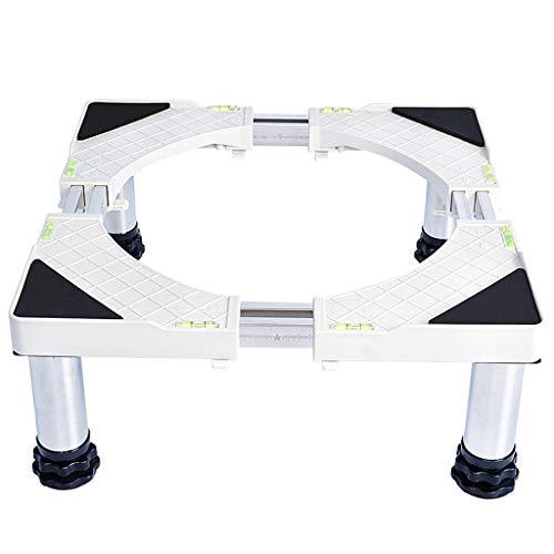 Zfggd Support de Garniture de réfrigérateur Automatique à Tambour de Support de Tablier de surélévation en Acier Inoxydable (Couleur : 4 Foot, Taille : 19-22cm)