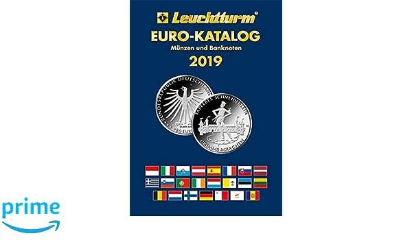 Euro Katalog 2019 Münzen Und Banknoten Amazonde Leuchtturm