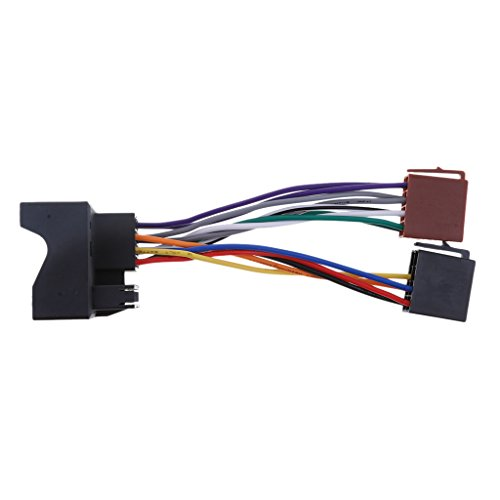 IPOTCH Universal-ISO Autoradio-Adapter Stereo-Kabelbaum-Stecker für Ford Focus Max 2003 (Ford-stereo-kabelbaum)