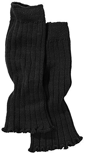 PEPPERTS® Mädchen Stulpen (Schwarz, One Size, Länge ca. 31,5 cm)