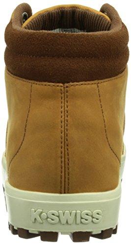 K-swiss adcourt 72 Boot~cgnc/bsn/wspr Wht~m, Sneakers Hautes Homme Marron (cognac/bison/whisper White/221)
